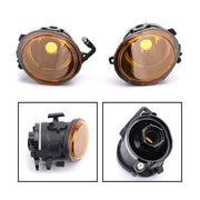 Pair Replacement Yellow Lens Fog Lights Lamps For 2001-2006 BMW E46 M3 4 Door