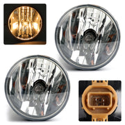 Pair Clear Fog Lights Driving Lamps For 07-13 Chevy Avalanche Suburban Tahoe GMC