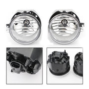 Fog Light Lamp RL H Pair W/2Bulbs For 07 Compass Sebring Caliber 06-09 Charger