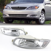 2X Front Bumper Lamp Clear Fog Light For 2005-2008 Toyota Corolla Camry Solara