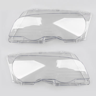 1PC Headlight Lens Replacement Covers Left For BMW E46 2Drs 1998-2001 New