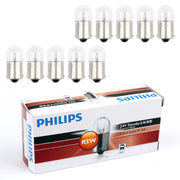 10pcs Genuine PHILIPS 13821 R5W 24V 5W BA15s Standsrd Singaling Lamp Bulbs
