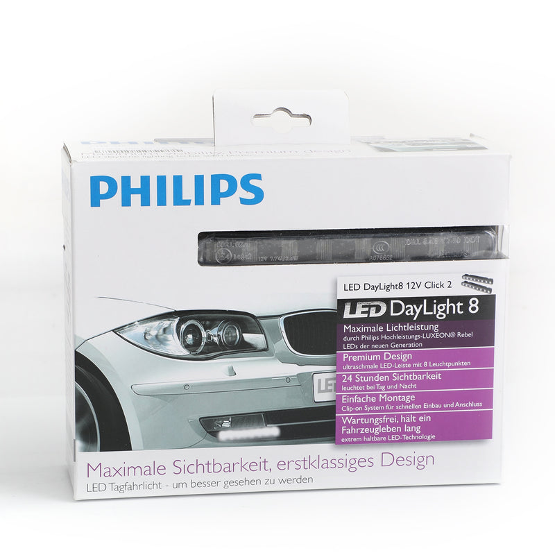 PHILIPS Luxeon LED DayLight 8 Daytime Running Light DRL Light lamp 12824 12V Generic