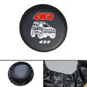 Universal Spare Wheel Tire Bag Tyre Storage Soft Cover 4WD Size 2829 For Car