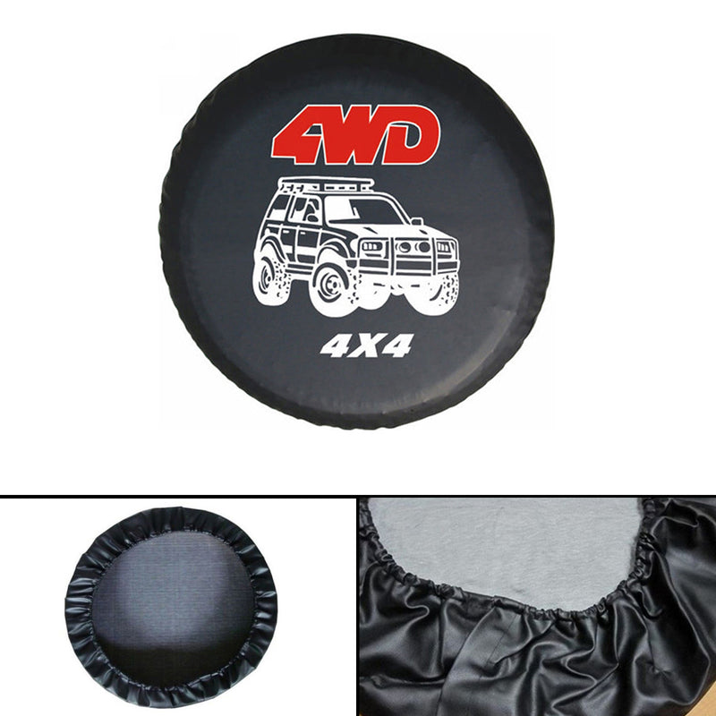 New universal Spare Wheel Tire Tyre Soft Cover 4WD Size 15 16 17 For All Car