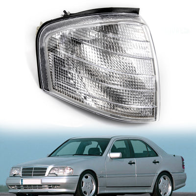 Right Corner Lights Turn Signal Lamps Fits Mercedes Benz C Class W202 1994-2000