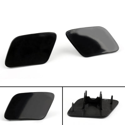 Front Bumper Headlight Washer Jet Cover Cap For Audi A4 B6 Quattro 02-05 Left