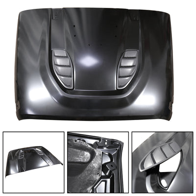 10th Anniversary Heat Reduction Hood 2007-18 For Wrangler JK Ready to Paint