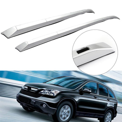 Pair Roof Rack Rail Bar Silver FACTORY Style CR-V Fits For 2012-2016 Honda CRV