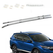 Pair Silver Aluminium Roof Rack Rail Fits For HONDA CRV CR-V 2017 2018 2019