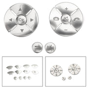 Steering Wheel Button Cover Silver Trim 12pcs For Benz W204 W212