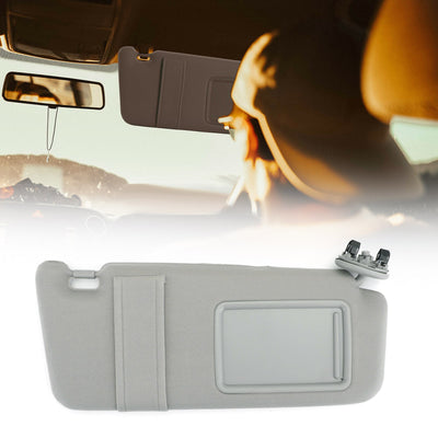 Right Passenger Side Sun Visor With Sunroof Gray for 2007-2011 Toyota Camry