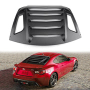 Rear Window Louver Sun Shade Cover For 13-18 Subaru BRZ/Scion FR-S/Toyota GT86