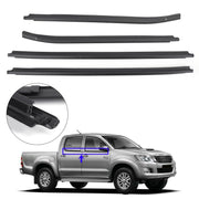 Weatherstrip 4 Door Rubber Seal For Toyota Hilux KUN26 KUN36 GGN25 TGN16 TGN36