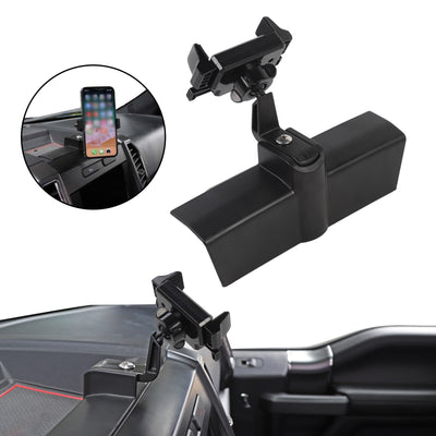 360 Degree Car Mount Phone Cellphone Holder Mount Black For Ford F150 2015+