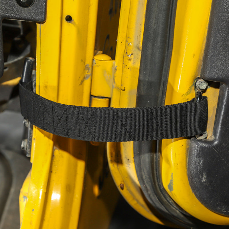 Car Door Limit Strap Bandage Rope For Wrangler TJ 1997-2006 2PCS Generic
