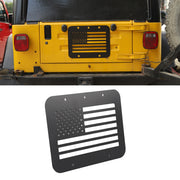 Car Rear Tailgate Exhaust Cover Trim Exterior For Jeep Wrangler TJ 1997-2006