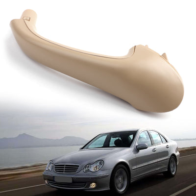 Front Left Interior Door Pull Handle OE Beige For Mercedes-Benz W203 C-Class