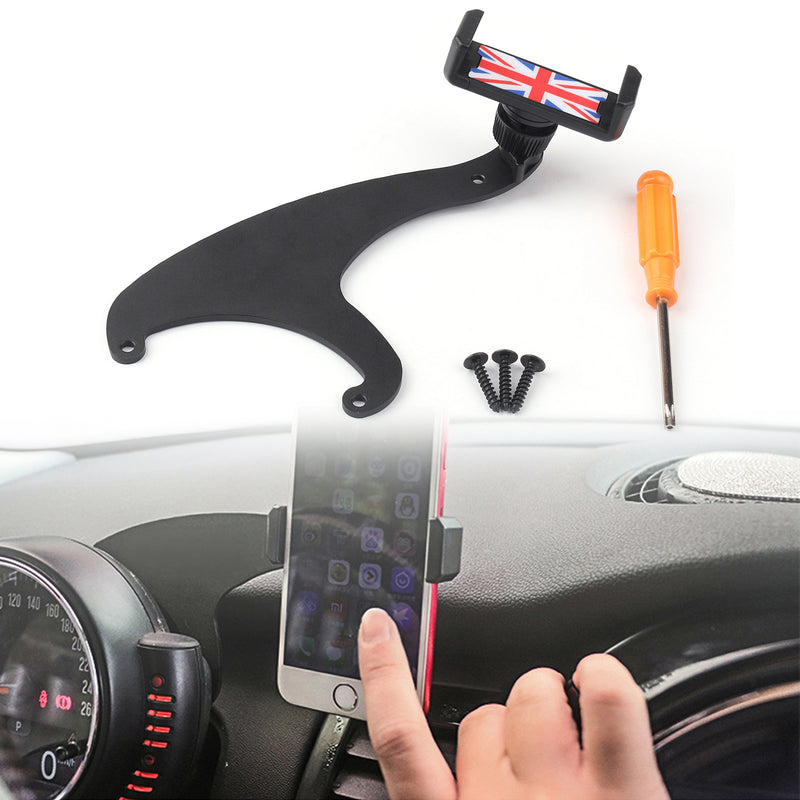 360??Rotation Car Phone Mount Cradle Holder Stand For Mini Cooper F54 F55 F56