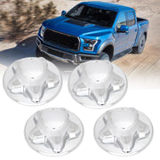 For 97-04 FORD F150 F-150 PICKUP TRUCK CHROME WHEEL HUB CENTER CAPS SET OF 4 NEW