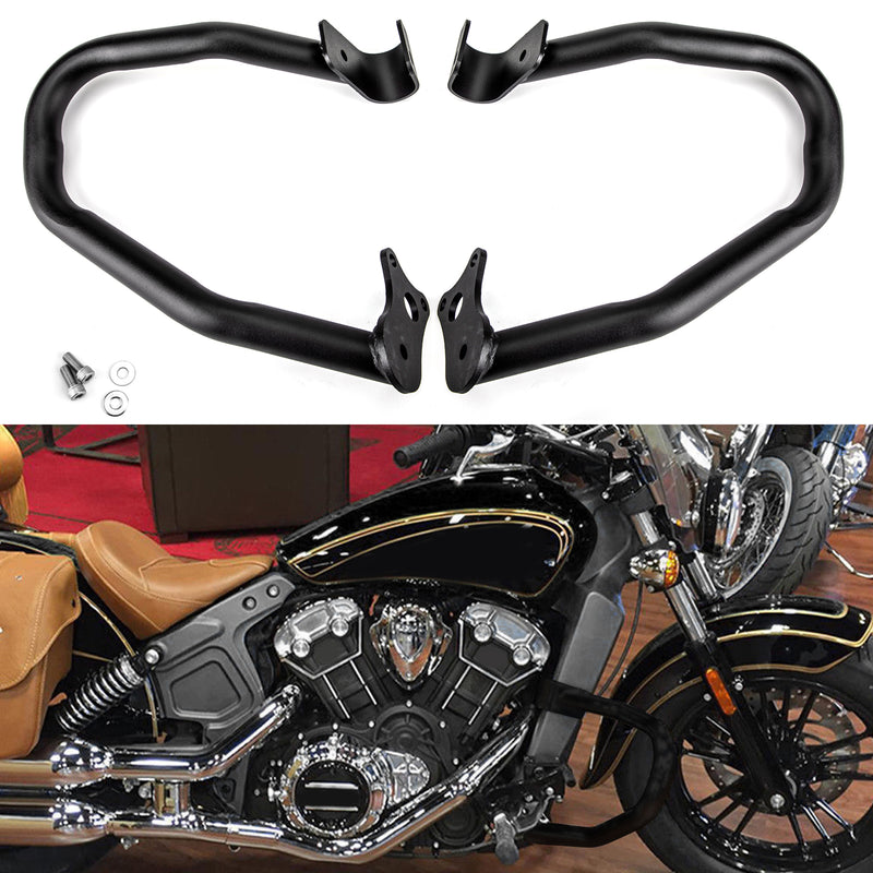 New For Indian Scout 2015-2018 Reliable Engine Guard Highway Crash Bars Generic