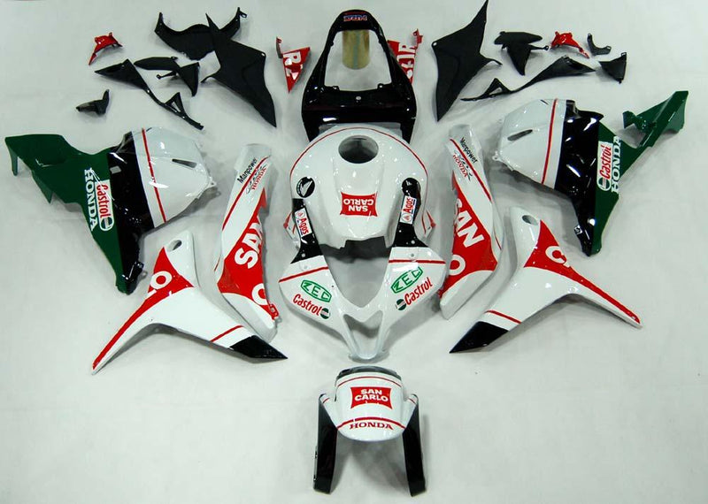 Bodywork Fairing ABS Injection Molded Plastics Set For CBR600RR (2009-2010) 20 Color Generic