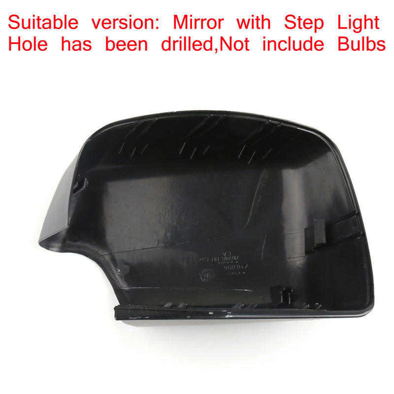 Right Step Light Mirror Cover Cap For 2000-2001 2004-2006 BMW X5 E53