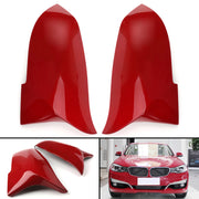 Direct Replacement M3 Style Mirror Covers Red For 2012-2018 BMW F30 F31 Sedan