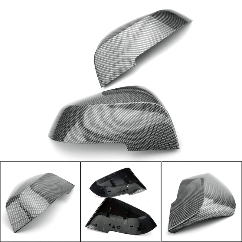 Rearview Mirror Cover Caps Replacement For BMW F20 F21 F22 F23 F30 F32