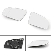 Front L/R Side Rearview Mirror Glass W/ Heated For AUDI A3 S3 A4 B6 B7 A6 S6