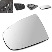 Left Heated Wing Side Mirror White Glass For BMW X5 X6 E70 E71 E72 2008-2014