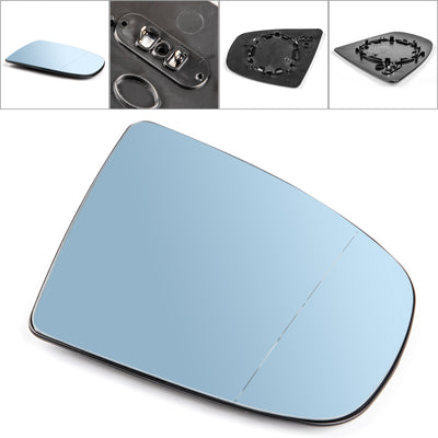 Right Heated Wing Side Mirror Blue Glass For BMW X5 X6 E70 E71 E72 2008-2014