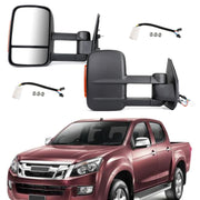 Extendable Towing Mirrors For Isuzu D-MAX 2012+ Holden Colorado RG 2012+