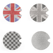 Gas Tank Cap Sticker Cover Emblem Fuel Tank Decal B/G Union Jack For Mini Cooper