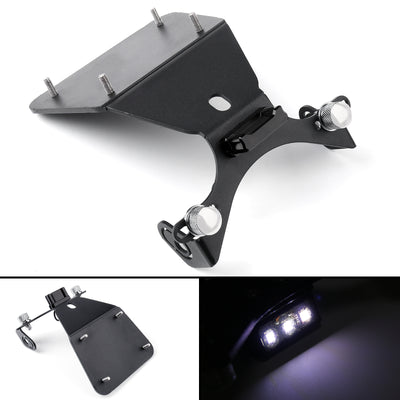 Motorcycle Aluminium Black License Plate Bracket For Yamaha R3/R25/MT-03/MT-25
