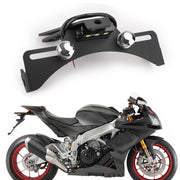 Generic License Plate Bracket Holder For Aprilia RSV4/R/RF 09-19 Tuono V4 RS4 50 11-19