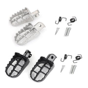 1 Pair Front Footpegs Footrests Foot Peg For Yamaha TW200 PW50 PW80 all years