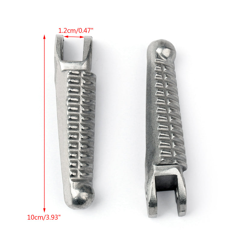 Motorcycle Front Foot Pegs Footrests for Ducati 848 1098 1198 2008-2013 2010 Generic