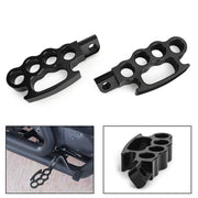 Aluminum Control Foot Peg Footpegs For Sportster Iron 883 XL 883 1200 Softail