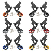 Motorcycle Folding Footrests Foot Pegs Rear Pedals For Honda X-ADV 750 2017-2018