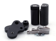 Frame Sliders Protector Crash For Yamaha YZF R1 2009-2010 Black