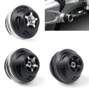 CNC Motorcycle Bike Swingarm Spools Slider For BMW R NINE T 2014-2017 Black