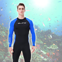 Ultra-thin WetSuit Full Body Super stretch Diving Suit Swim Surf Snorkeling