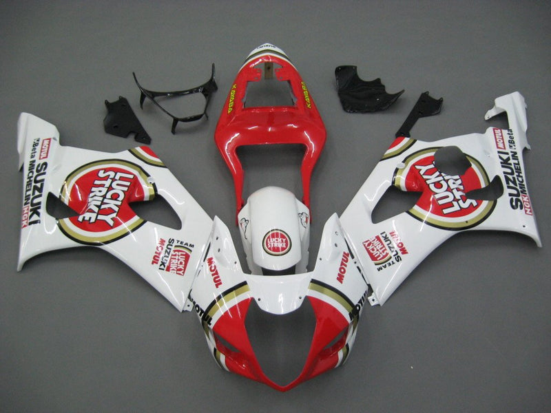 Bodywork Fairing ABS Injection Molded Plastics Set For GSXR1000 (2003-2004) 24 Color Generic