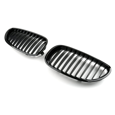 Front Grille / Front Kidney Grill For 2003-2010 BMW E60 E61 5 Series (2003-2010) Generic