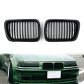 Matt Black Front Kidney Grill Mesh Grille For BMW E36 (1997-1999)