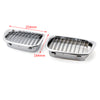 Chrome Front Kidney Grill Mesh Grille For BMW E39 (1995-2003)