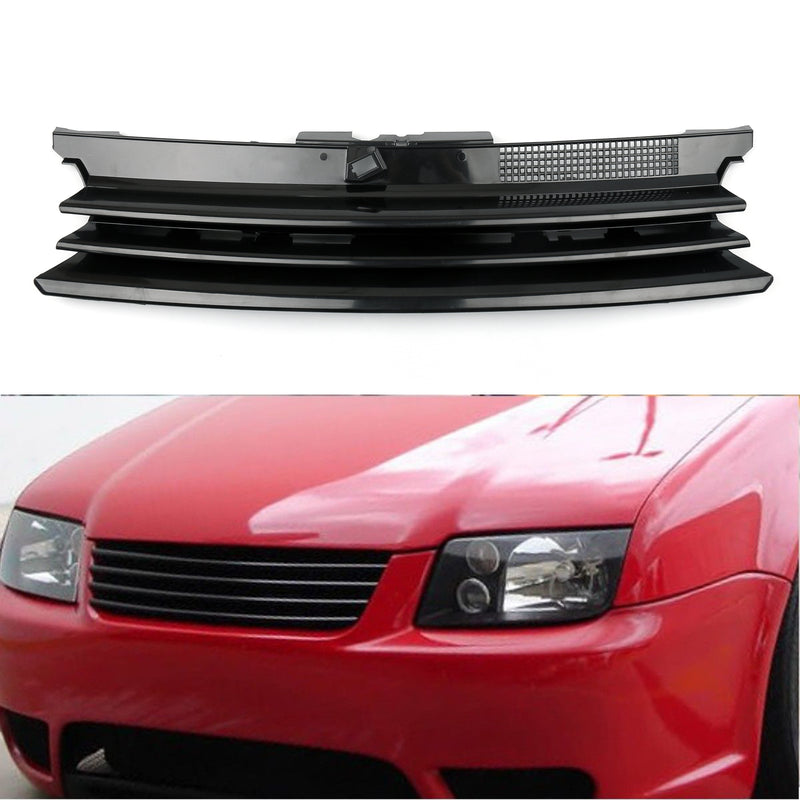 Front Bumper Sport Mesh Badgeless Grill/Grille Guard For VW Golf MK4 (99-05)