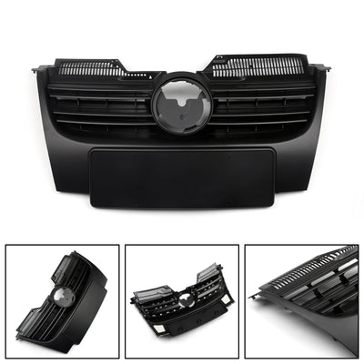 Front Upper Bumper Grille For VW GTI Golf 5 Jetta MK5 (2006-2009)