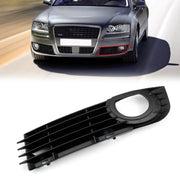 Front Lower Fog Light Bumper Grill For Audi A8 Quattro 4.2L 6.0L (06-08)